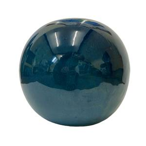 Chiswick Green Sphere Garden Ornament - 25cm