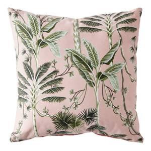 Palm Print Cushion - Blush