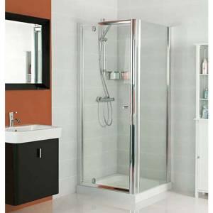 Gleam 800mm Hinge Door Shower Enclosure