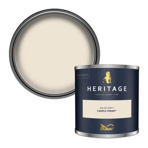Dulux Heritage Colour Tester - Candle Cream - 125ml