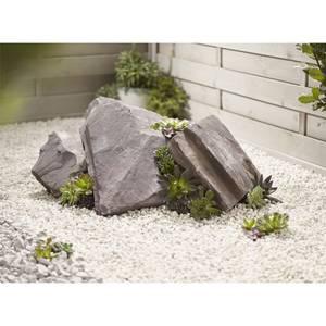 Stylish Stone Plum Slate Rockery