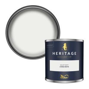 Dulux Heritage Colour Tester - China White - 125ml