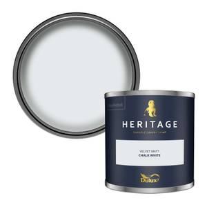 Dulux Heritage Colour Tester - Chalk White - 125ml