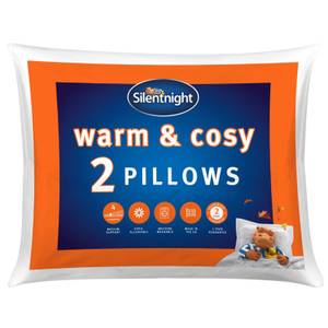 Silentnight Warm & Cosy Pillowpairs