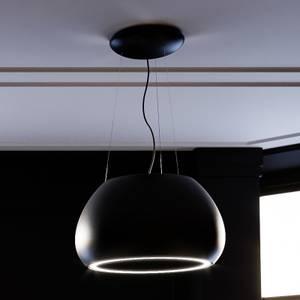 Inox Icon 60cm Island Canopy Cooker Hood - Satin Black