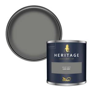 Dulux Heritage Colour Tester - Lead Grey - 125ml