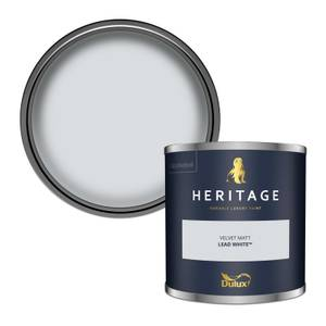 Dulux Heritage Colour Tester - Lead White - 125ml