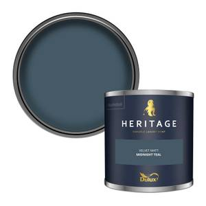 Dulux Heritage Colour Tester - Midnight Teal - 125ml