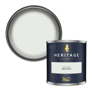 Dulux Heritage Colour Tester - Panel White - 125ml
