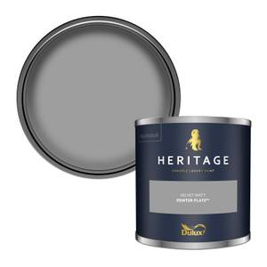 Dulux Heritage Colour Tester - Pewter Plate - 125ml