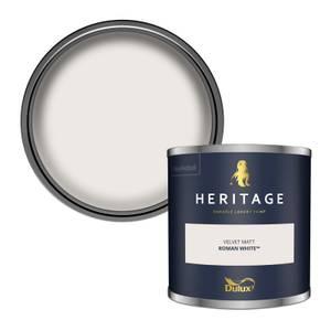 Dulux Heritage Colour Tester - Roman White - 125ml