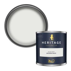 Dulux Heritage Colour Tester - Edelweiss White - 125ml