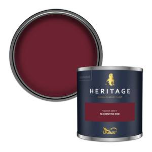 Dulux Heritage Colour Tester - Florentine Red - 125ml