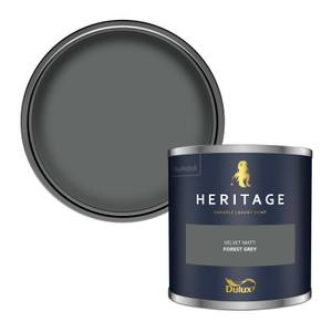 Dulux Heritage Colour Tester - Forest Grey - 125ml