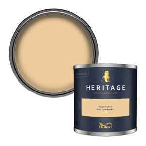 Dulux Heritage Colour Tester - Golden Ivory - 125ml