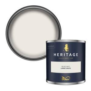 Dulux Heritage Colour Tester - Linnet White - 125ml