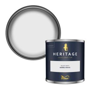 Dulux Heritage Colour Tester - Marble White - 125ml