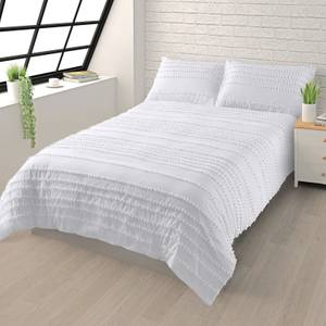 House Beautiful Cotton Tufted Bedding Set - Super King