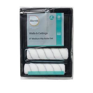 Harris Seriously Good Walls And Ceilings 9in Twin Sleeve Roller Set