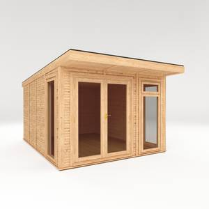 Mercia Insulated Garden Room 3x4m - Installed
