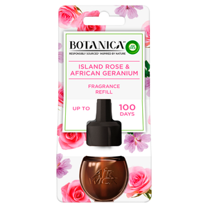 Botanica by Air Wick Island Rose and African Geranium Plug-In Diffuser Refill 19ml