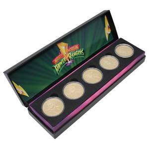 Power Rangers Limited Edition Coin Set - Zavvi Exclusive by DUST!