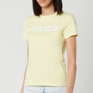 KENZO Women's KENZO Logo Classic T-Shirt - Vanilla