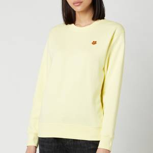 KENZO Women's Tiger Crest Classic Sweatshirt - Vanilla
