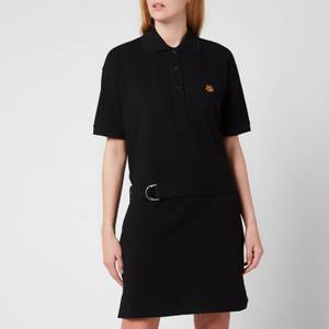 KENZO Women's Tiger Crest Polo Dress - Black