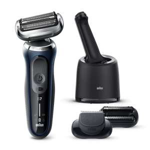 Series 7 Shaver with Cleaning Centre and EasyClick Attachments