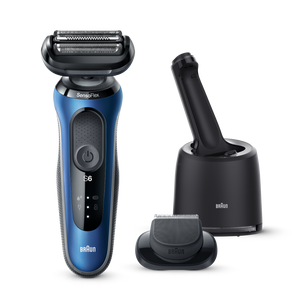 Series 6 Shaver with Cleaning Centre and Beard Trimmer