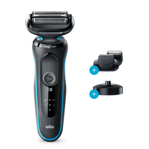 Series 5 Shaver with Charging Stand and Beard Trimmer