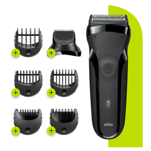 Series 3 Shaver with Trimmer Head and 5 Combs