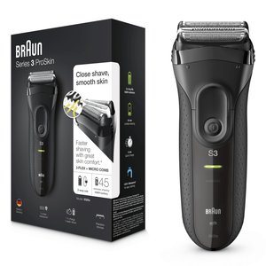 Series 3 ProSkin with Precision Trimmer, Black