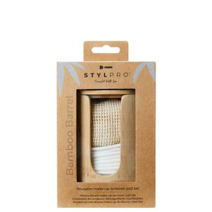 StylPro Bamboo Barrel Makeup Remover Pads