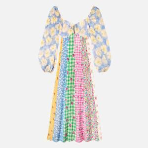 RIXO Women's Ivy Dresses - Summer Ditsy Mix