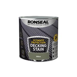 Ronseal Ultimate Protection Decking Stain Willow 2.5L