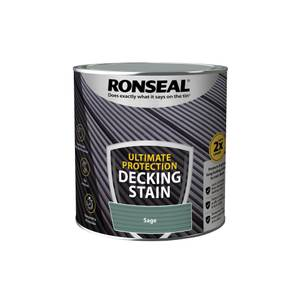Ronseal Ultimate Protection Decking Stain Sage 2.5L