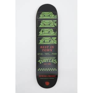 Teenage Mutant Ninja Turtle DUST! Exclusive Black Skateboard Deck - Limited to 500 pieces only