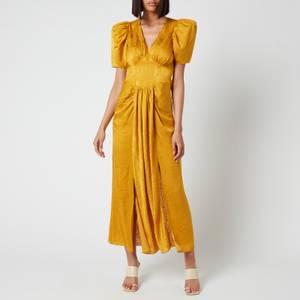 ROTATE Birger Christensen Women's Alma Dress - Spicy Mustard