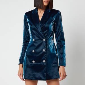 ROTATE Birger Christensen Women's Newton Blazer Dress - Insignia Blue