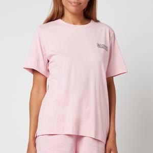 Ganni Women's Thin Software Jersey T-Shirt - Sweet Lilac