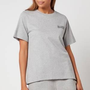 Ganni Women's Thin Software Jersey T-Shirt - Paloma Melange