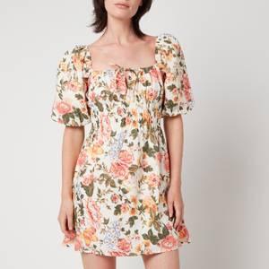 Faithfull The Brand Women's Nikoleta Mini Dress - Tearo Floral Print