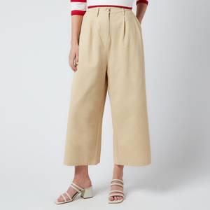 L.F Markey Women's Jorgen Trousers - Oatmeal