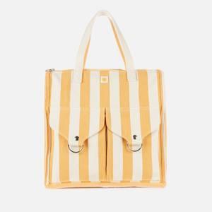 L.F Markey Women's Striped Shopper Yellow - Yellow