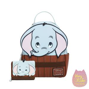 Loungefly Disney Dumbo Cosplay Mini Backpack and Wallet Set - VeryNeko Exclusive