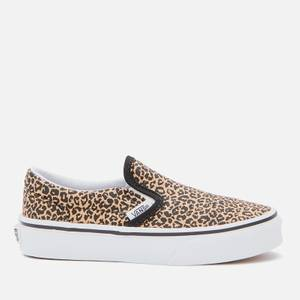 Vans Kids' Classic Slip-On - Leopard/Black