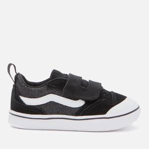 Vans Toddlers' ComfyCush New Skool Vecro Trainers - Black
