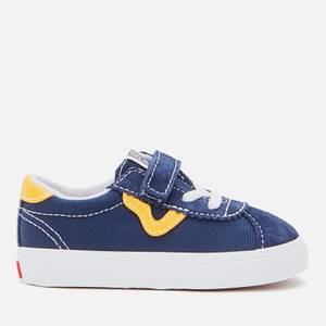 Vans Toddlers' Classic Sport Veclro Trainers - Dress Blue